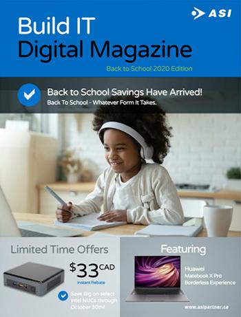 BuildIT Digital Magazine Back to School 2020