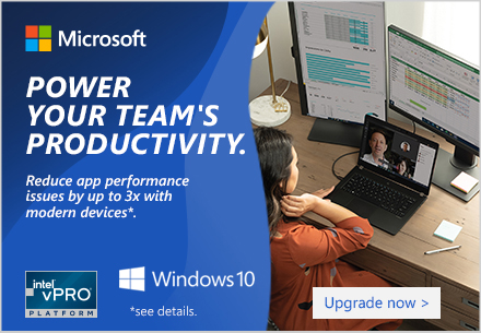 Windows Stay connected. Stay productive. Click to learn about Windows audio and video conferencing.