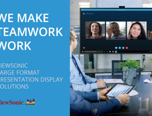 ViewSonic Large Format Presentation Display Solutions
