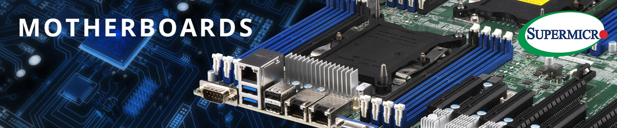 Supermicro Motherboards Banner
