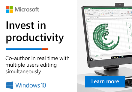 Windows: Invest in Productivity