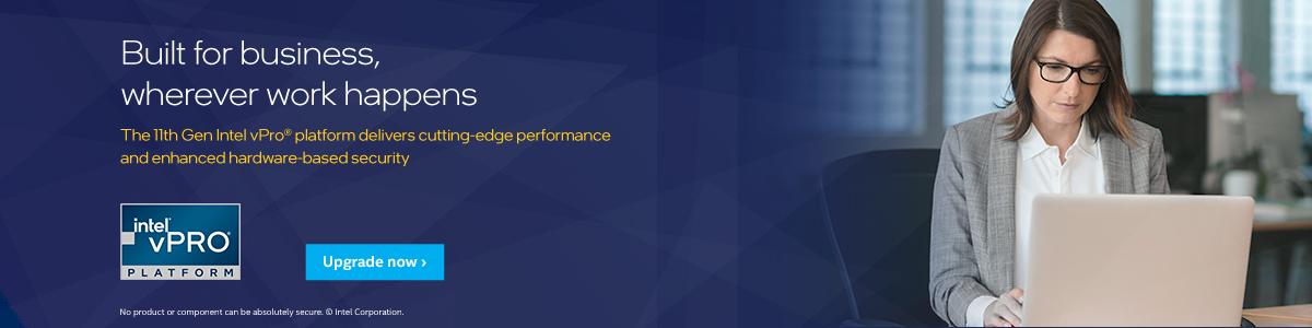 Intel vPro Platform Banner
