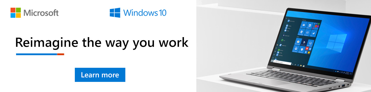 Reimagine the way you work with Windows 10
