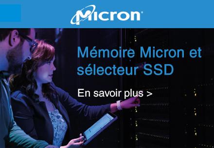 Micron Memory Selector