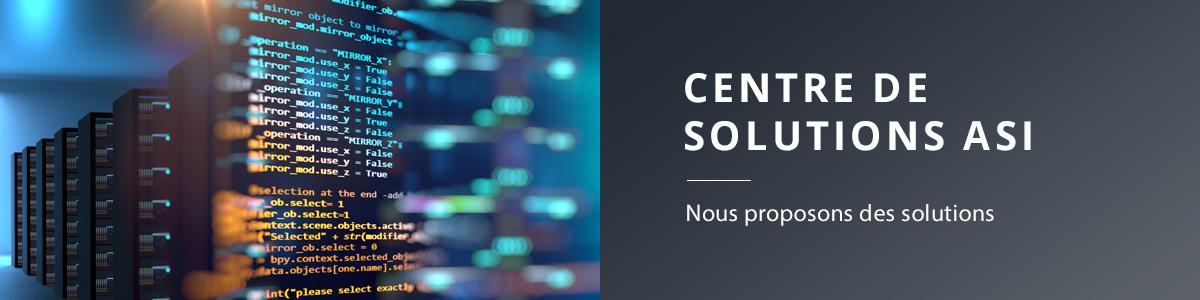 Centre de solutions ASI