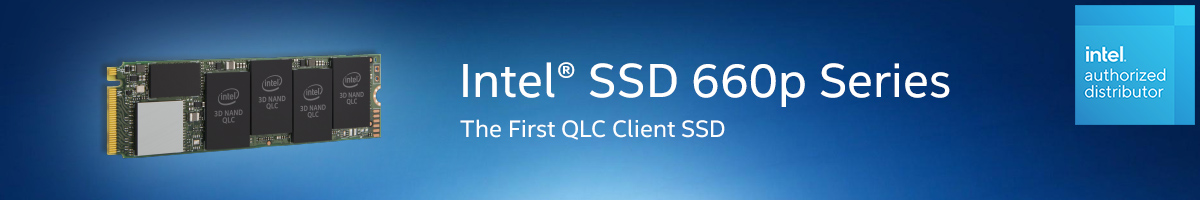 Intel SSD 660P Series - The First QLC Client SSD