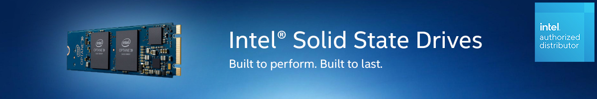 Intel SSD. Built to perform. Built to last.