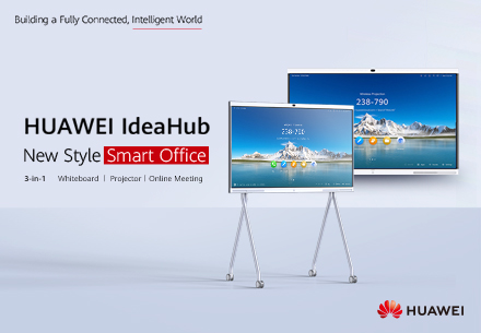 Huawei IdeaHub product advertisement