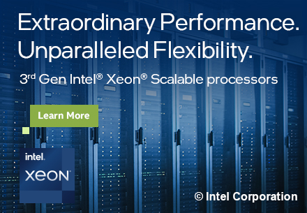 3rd Gen Intel Xeon Scalable Processors: Extraordinary Performance.