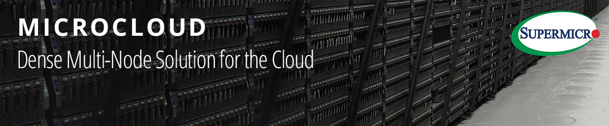 Supermicro Microcloud Banner