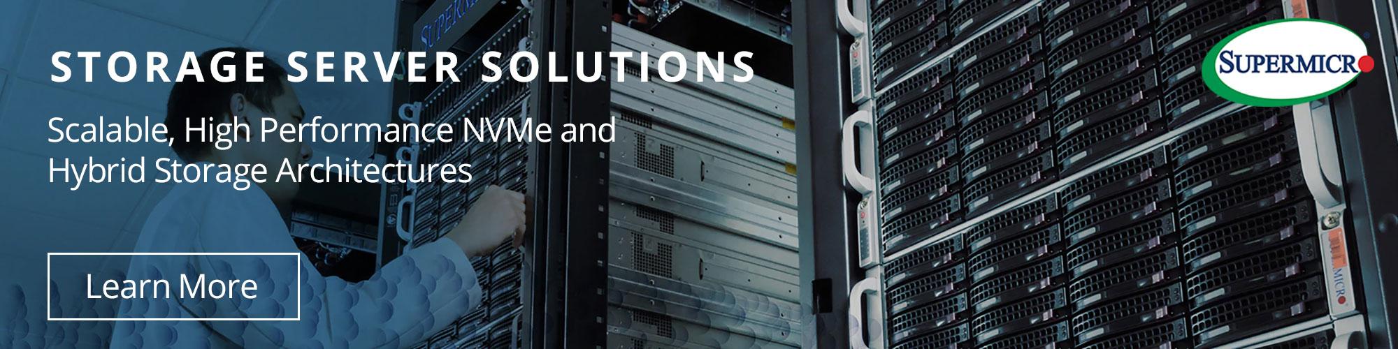 Supermicro Storage Server Solutions